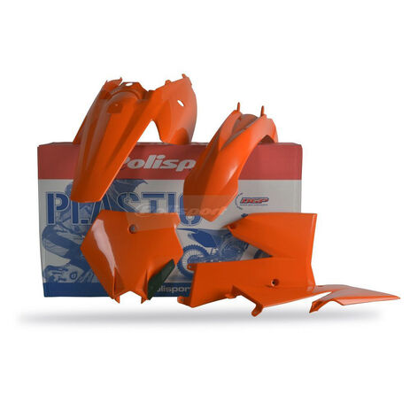 _Kit Plásticos Polisport KTM SX 85 06-12 Naranja | 90131 | Greenland MX_