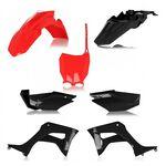 _Full Kit Plásticos Acerbis Honda CRF 110 F 19-21 Negro/Rojo | 0024606.349-P | Greenland MX_