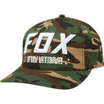 _Gorra Fox Triple Threat Flexfit Camuflaje | 23022-031 | Greenland MX_