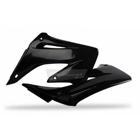 _Tapas Radiador Polisport Honda CR 125/250 R 02-07 Negro | 8427000002 | Greenland MX_