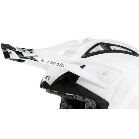 _Visera Recambio Airoh Terminator Blanco Perlado | TC14F | Greenland MX_