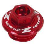 _Tapón Llenado Aceite Honda Yamaha Rojo | ZE89-2110-P | Greenland MX_