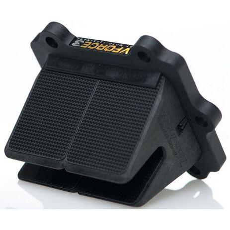 _Caja De Láminas Carbono V-Force 3 Suzuki RM 85 | V383S-A | Greenland MX_