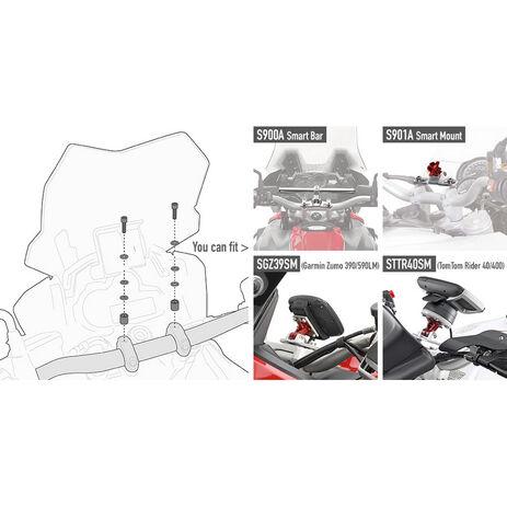 _Kit Tornillería para Smart Bar S900A o Smart Mount S901A Honda/KTM/Suzuki/Yamaha/Kawasaki | 05SKIT | Greenland MX_
