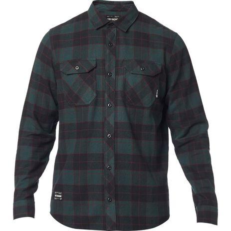 _Camisa Fox Traildust Flannel Emerald | 23826-294 | Greenland MX_