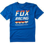 _Camiseta Infantil Fox Full Count Azul | 24998-159-P | Greenland MX_