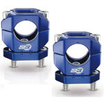 _Bridas Manillar S3 Aluminio 28 mm Azul | HA-CL13-U | Greenland MX_