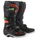 _Botas Alpinestars Tech 7 Negro/Rojo | 2012014-1366 | Greenland MX_