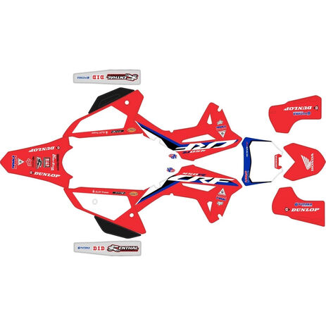 _Kit Adhesivos Completo Honda CRF 450 R 2021 HRC Rojo   SK-HCRF45021HRCRED-P   Greenland MX_