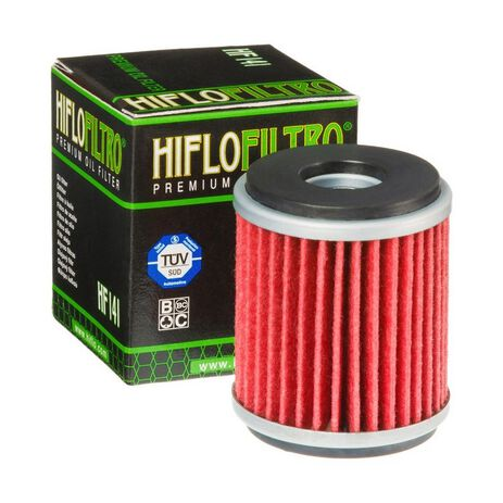 _Filtro de Aceite Hiflofiltro WR 250/450 03-08 Gas Gas EC 250 F 10-13 | HF141 | Greenland MX_
