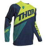 _Jersey Thor Sector Blade Azul Marino/Verde Flúor | 2910-5480-P | Greenland MX_