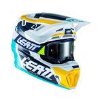 _Casco con Gafas Leatt Moto 7.5 V22 Turquesa | LB1022010130-P | Greenland MX_