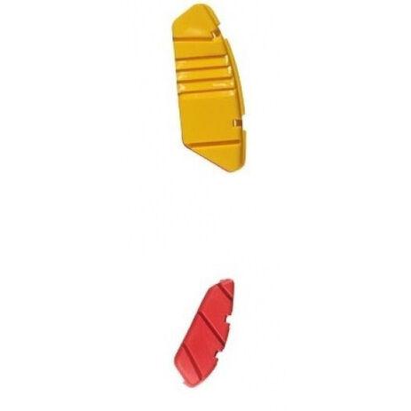 _Deslizador de Suela Bota Forma Dominator Comp Amarillo/Rojo | 31203800 | Greenland MX_