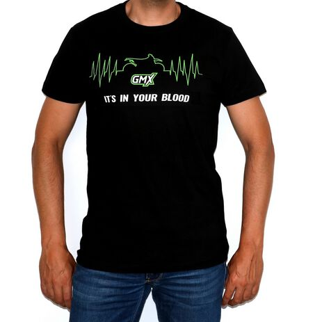 _Camiseta Its in Your Blood Negro   PU-GMXBLE   Greenland MX_
