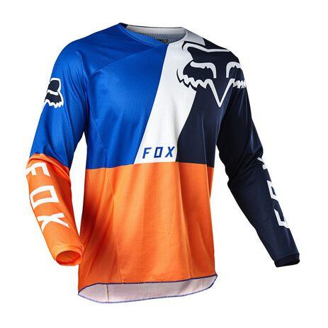 _Jersey Fox 180 Lovl Special Edition Naranja/Azul   26526-592   Greenland MX_