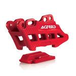 _Guía Cadena Acerbis 2.0 Honda CRF 250/450 R/X 07-16 Rojo | 0017949.110 | Greenland MX_