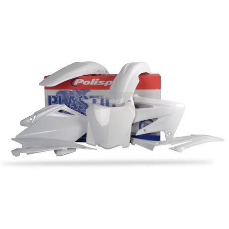 _Kit Plásticos Polisport Honda CRF 250 08 Blanco | 90143 | Greenland MX_