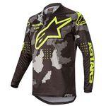 _Jersey Alpinestars Racer Tactical 2020 Negro/Camuflaje/Amarillo Flúor   3761220-1154   Greenland MX_