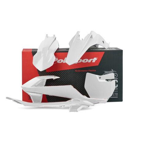 _Kit Plásticos Polisport KTM SX 65 16-18 Blanco | 90685 | Greenland MX_