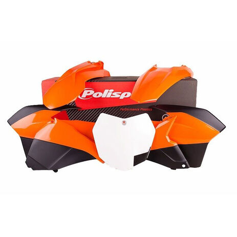 _Kit Plásticos Polisport KTM EXC/EXCF 14-16 | 90620 | Greenland MX_