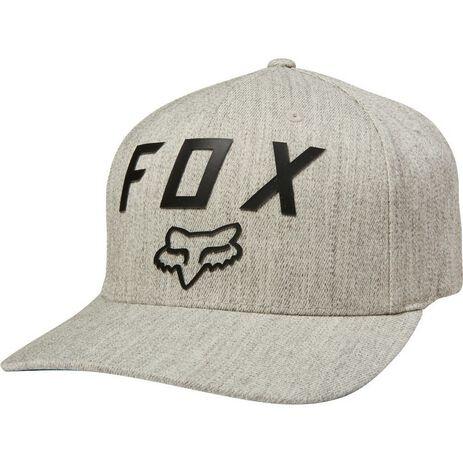 _Gorra Fox Number 2 Flexit Gris | 21984-416 | Greenland MX_