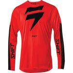 _Jersey Shift 3Lack Label Race Rojo/Negro | 24119-055 | Greenland MX_
