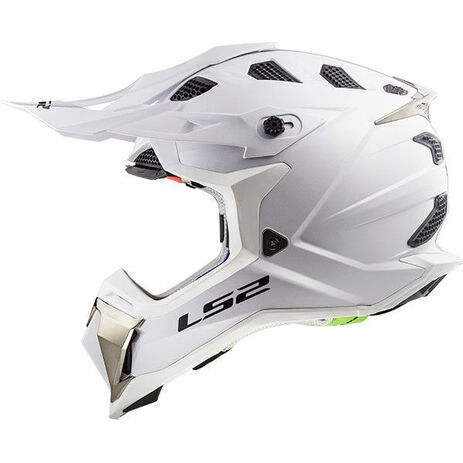 _Casco LS2 MX470 Subverter Solid Blanco | 404701002P | Greenland MX_