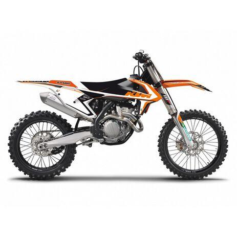 _Kit Completo Adhesivos Blackbird Dream 4 KTM SX/SXF 16-18  EXC 17-19 | 8541N | Greenland MX_