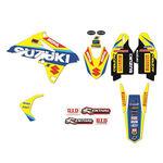 _Kit Adhesivos Blackbird Réplica Team Suzuki World MXGP RMZ 250 10-18 | 2319R6 | Greenland MX_