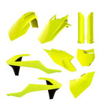 _Full Kit Plásticos Polisport KTM SX 125/150 SX-F 250/350/450 16-18 Amarillo Flúor | 90740 | Greenland MX_