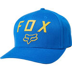 _Gorra Fox Number 2 Flexfit Azul | 21984-159-P | Greenland MX_