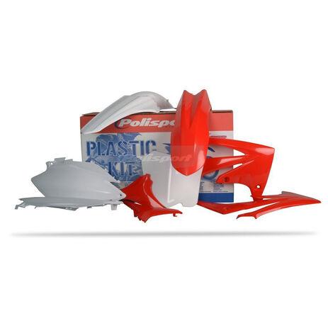 _Kit Plásticos Polisport Honda CRF 250 2011-13 CRF 450 11-12 | 90423 | Greenland MX_