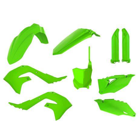 _Full Kit Plásticos Polisport Kawasaki KX 450 19-20 Verde Flúor | 91025-P | Greenland MX_