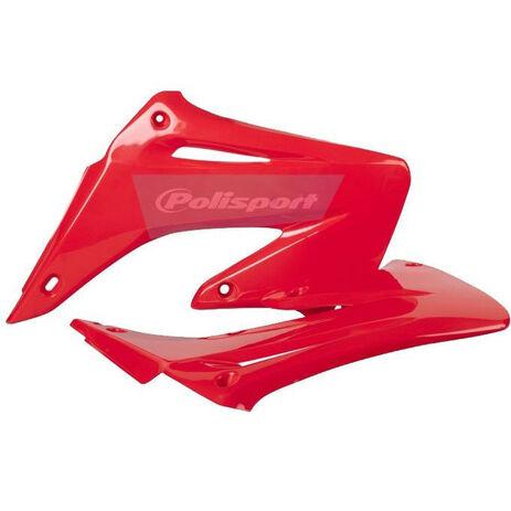_Tapas Radiador Polisport Honda CR 125/250 R 02-07 Rojo   8427000007   Greenland MX_