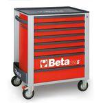 _Cajonera Móvil con 8 Cajones Beta Tools Rojo | C24S-8-R-P | Greenland MX_