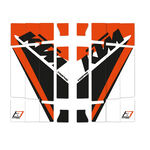 _Kit Adhesivos Rejilla Radiador Blackbird Replica Trophy 2020 KTM SX/SXF 19-.. EXC 20-.. | A503R19 | Greenland MX_