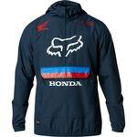 _Chaqueta Fox Savage Anorak Honda Azul Marino | 25323-007-P | Greenland MX_