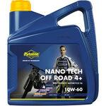 _Aceite Putoline Off Road 4T Nano Tech 4+ 10W-60 4 Litros | PT74026 | Greenland MX_