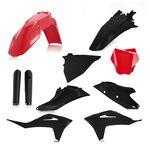 _Full Kit Plásticos Acerbis Gas Gas MC 125 21-.. MC 250/450 F 21-.. Negro/Rojo | 0024631.349-P | Greenland MX_