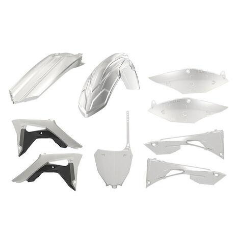 _Kit Plásticos Polisport Honda CRF 450 R 17-.. Transparente | 90771 | Greenland MX_