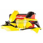 _Kit Plásticos Polisport Suzuki RMZ 250 10-18 OEM 14-16 | 90626 | Greenland MX_