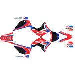 _Kit Adhesivos Completo Kit Restyling Polisport Honda CR 125 R 02-07 Negro | SK-CR125PLRKBK-P | Greenland MX_