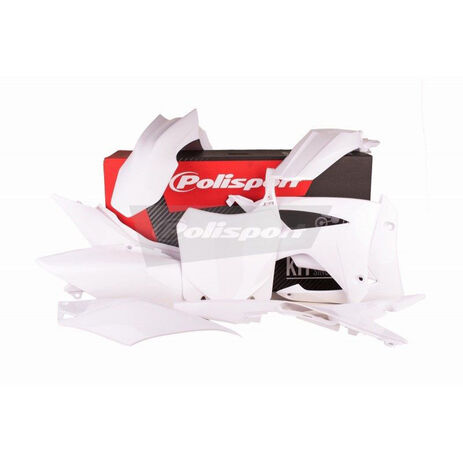 _Kit Plásticos Polisport Honda CRF 250 R 14-17 CRF 450 R 13-16 Blanco | 90561 | Greenland MX_