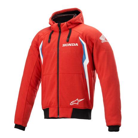 _Sudadera con Capucha Alpinestars Honda Chrome V2 Sport Rojo/Azul   4200821-3017   Greenland MX_