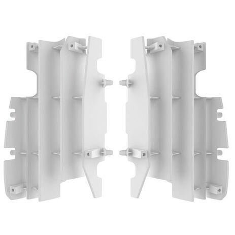 _Kit Rejillas Radiador Honda CR 125/250 R 05-07 Blanco | 8459800001 | Greenland MX_