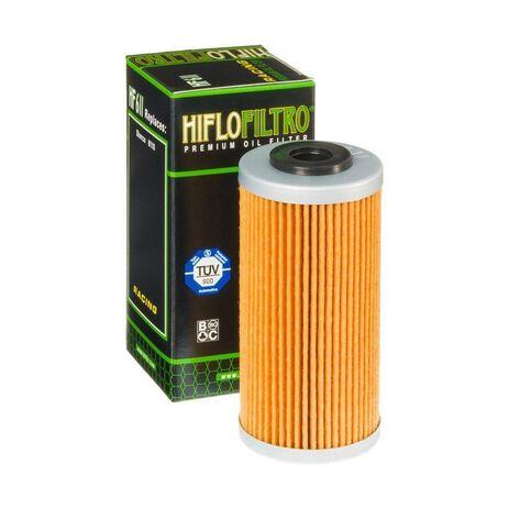 _Filtro de Aceite Hiflofiltro Sherco SE 250 i 08-.. BMW G 450 X 09-12 | HF611 | Greenland MX_