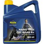 _Aceite Putoline Off Road 4T Nano Tech 4+ 10W-60 4 Litros | PT74026 | Greenland MX_