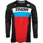 _Jersey Thor Pulse Racer Negro/Rojo/Azul | 2910-617NRA-P | Greenland MX_