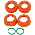 _Kit Protector Rodamientos de Rueda 4MX KTM EXC/EXC-F 16-.. SX/SX-F 15-.. Husqvarna 14-.. Naranja | 4MX-BP-02-OR | Greenland MX_