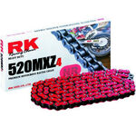 _Cadena RK 520 MXZ4 Super Reforzada 120 Pasos Rojo | TC-RKMXZ4RD | Greenland MX_